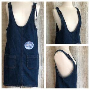 Nwt Jeans overall women's dress size medium